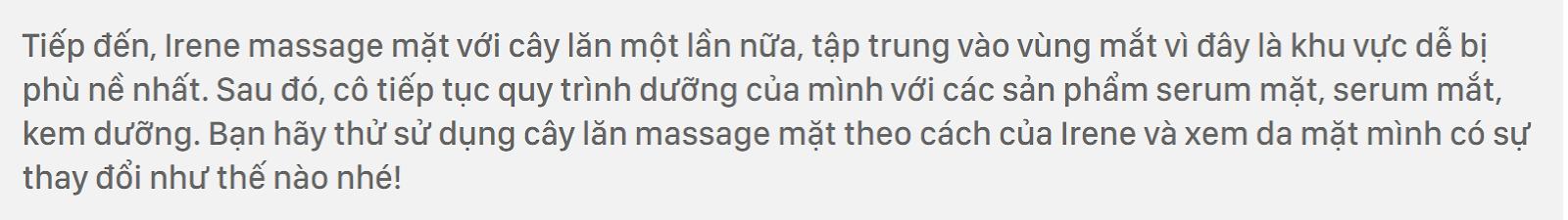 Cách đắp mặt nạ giấy của Irene Kim