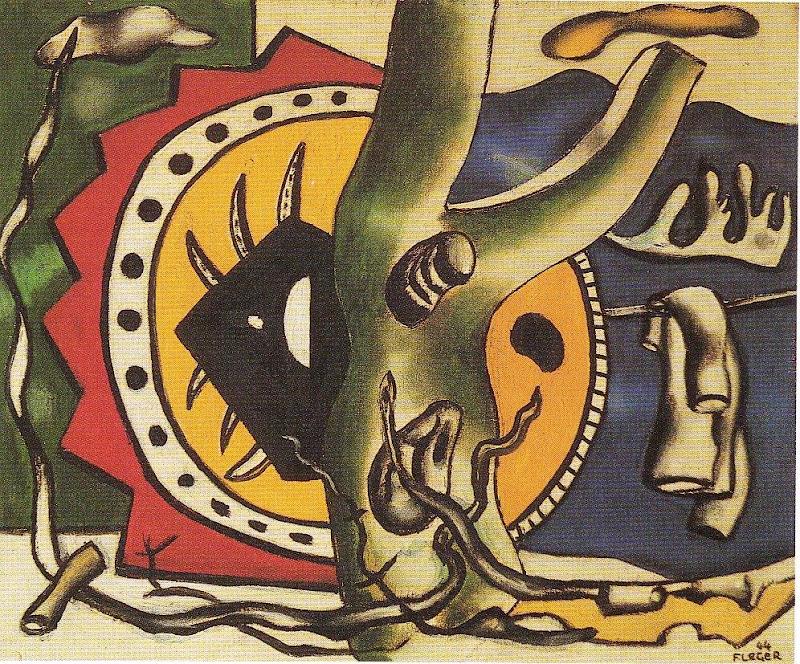 Fernand Léger - L'arbre vert (1944)