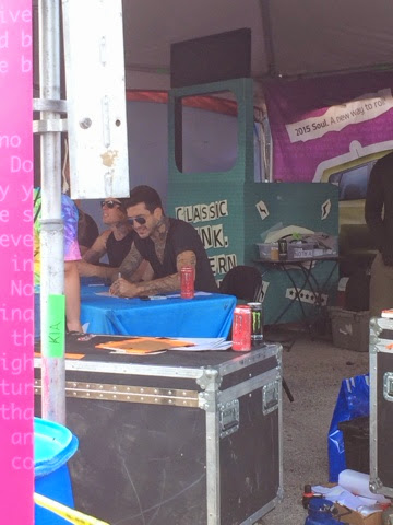 Concert Series: How I Met Austin Carlile and Other Warped Tour Tips