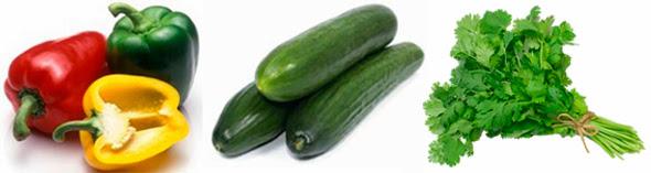 Verduras que te aportan Vit. C y E