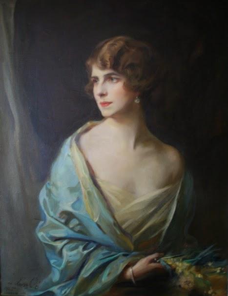 Regina Elena, portretizată de pictorul Caselor Regale europene, Philip de Laszlo
