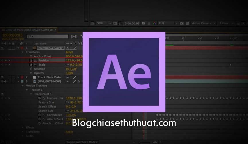 Chia sẻ khoá học Adobe After Effect cơ bản cho người mới bắt đầu