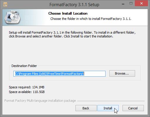 ติดตั้ง Format Factory แบบไม่มีของแถมพ่วงท้ายมาให้รำคาญใจ Ffset03