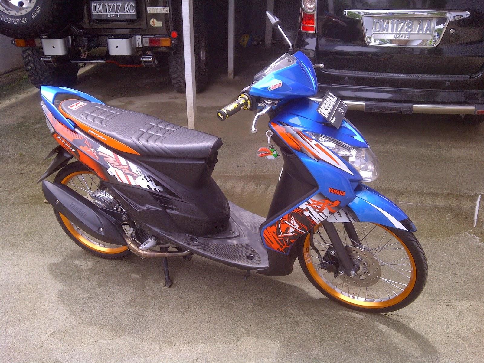 Yamaha Fino Velg 17