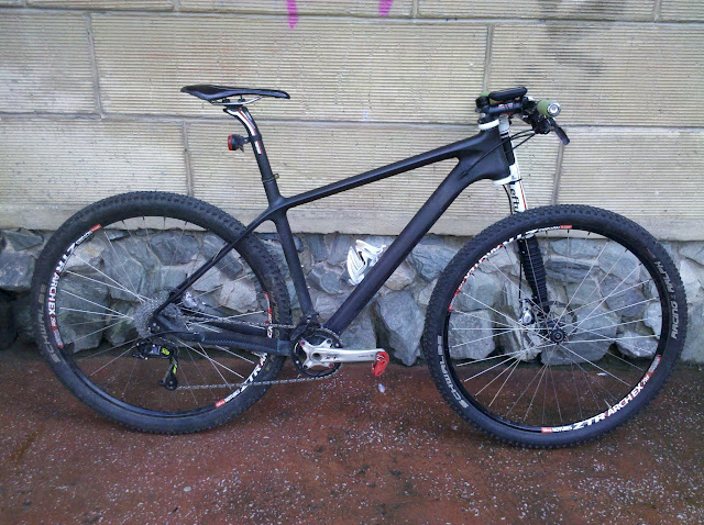 Апгрейд велосипеда Carbon NoName tappered 29er вилкой Cannondale Lefty Speed PBR 29er - Сервис MULTI