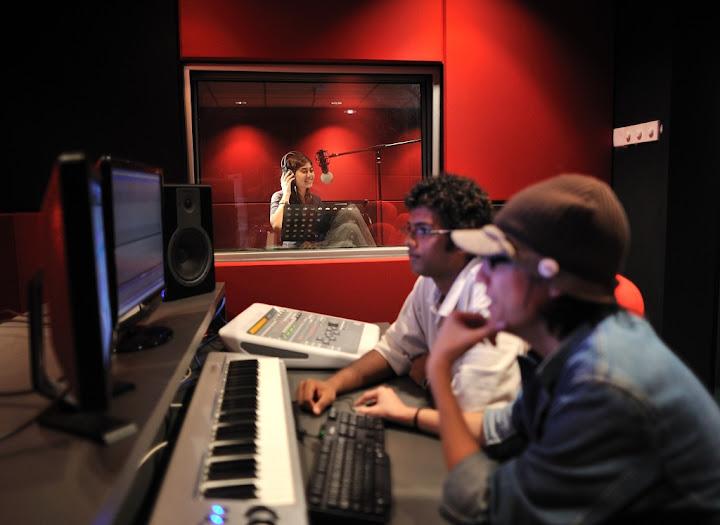 sound engineering room