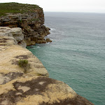 Looking over sea cliffs (34466)