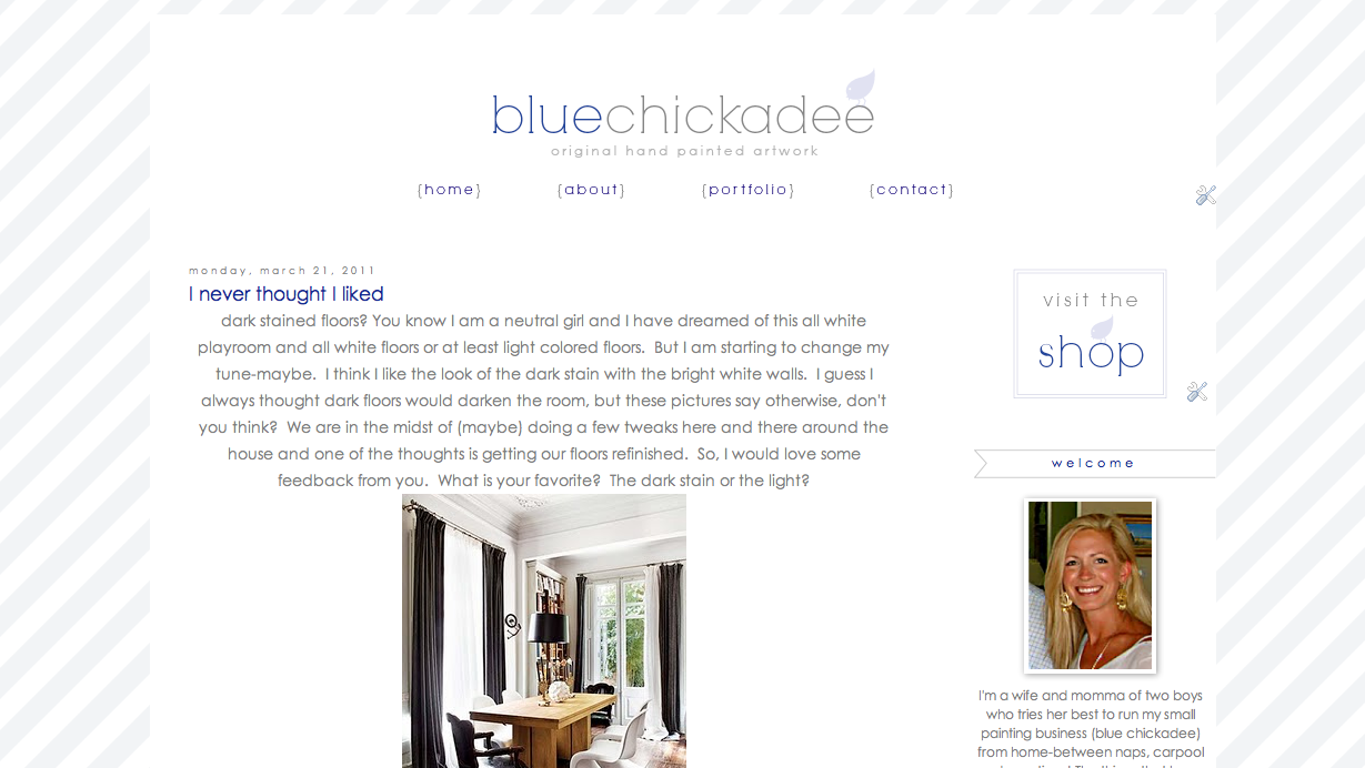 Blue chickadee march 2011 have you been over to brookes blog yet her blog is blueprint bliss and it is awesome all abut interiors and such she actually is gearing up for a move malvernweather Gallery