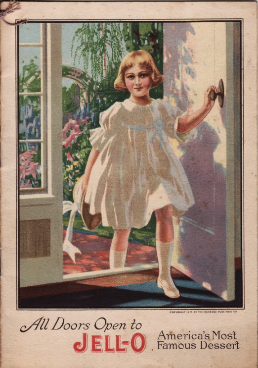 All Doors Open to Jell-O ©1917