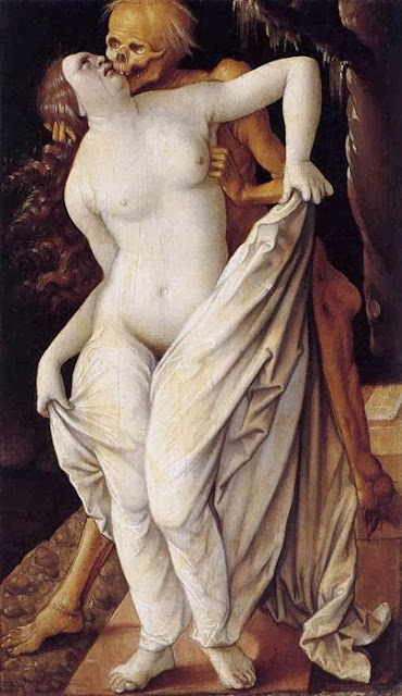 Hans Baldung - Death and the Maiden