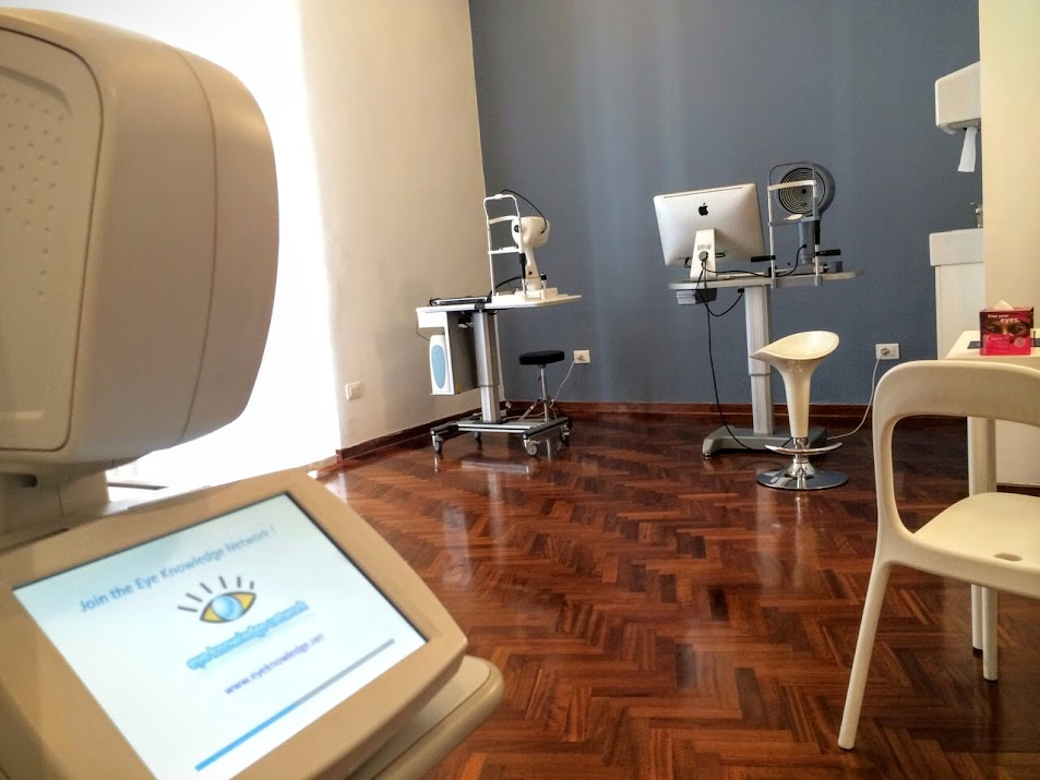 Centro Oculistico Pascotto - Napoli - OCT - Topografia Corneale - Fondo oculare