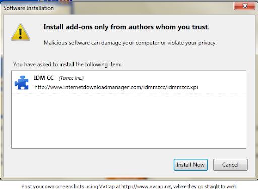 Solusi Agar IDM Kompatibel dengan Firefox 6 Terbaru