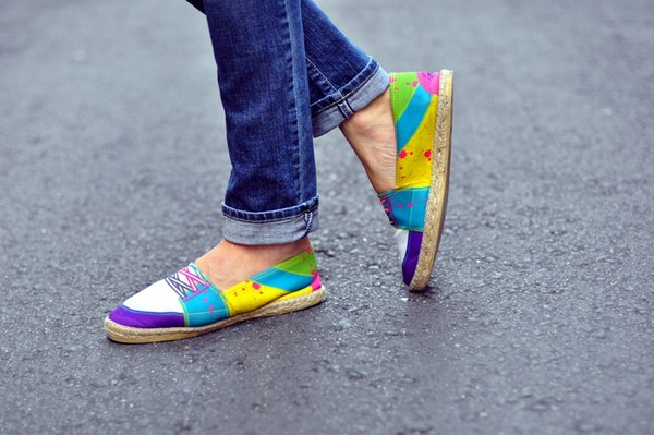 giày lười đế xuồng