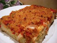 Sfincione, la vraie pizza des siciliens ! recette indexée dans les légumes