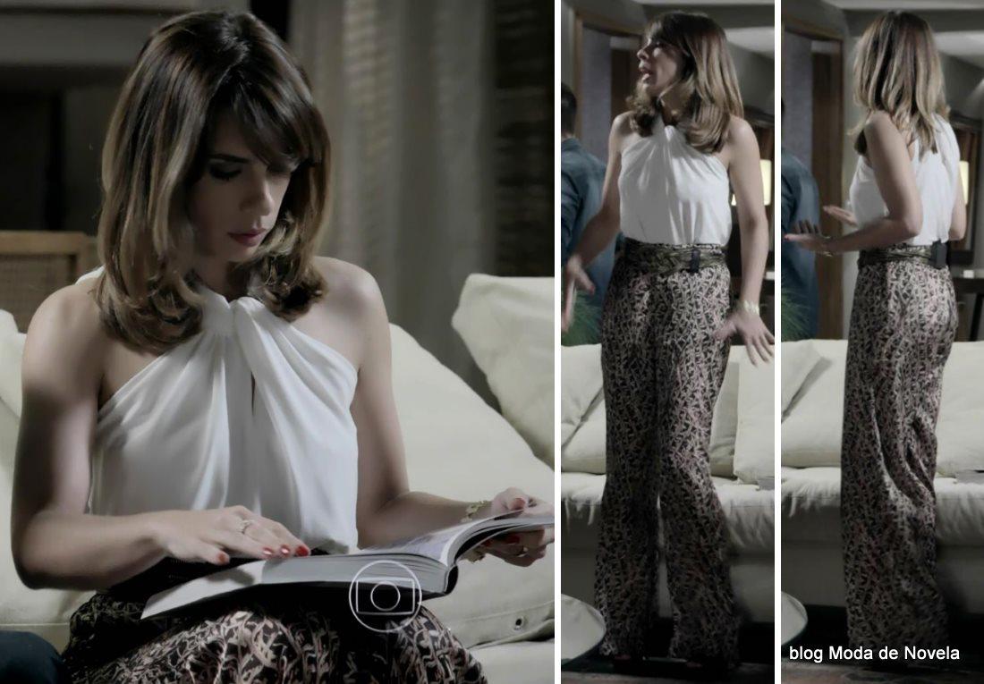 moda da novela Império - look da Daniele dia 8 de agosto