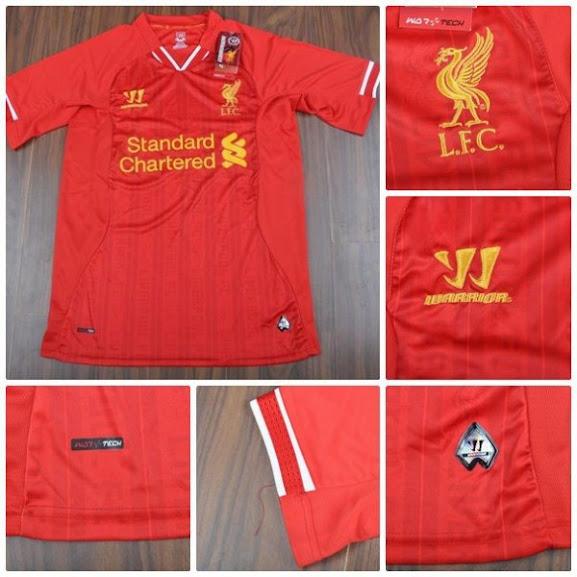 Jual Jersey Official Liverpool Terbaru 2014