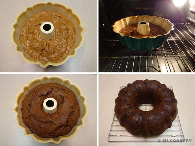 Chocolate Pumpkin Spice Cake