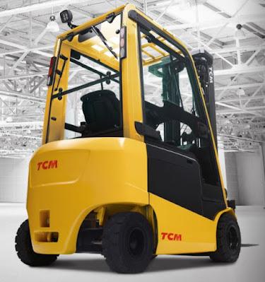 Xe nâng điện TCM 1.5 tấn cao 3m 4m