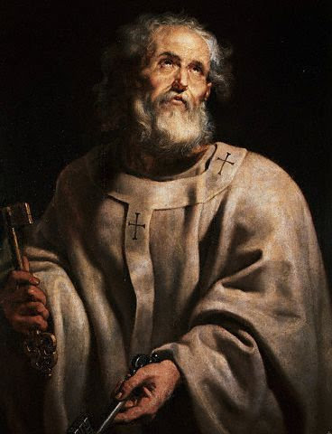St. Peter, by Peter Paul Rubens (1577-1640)