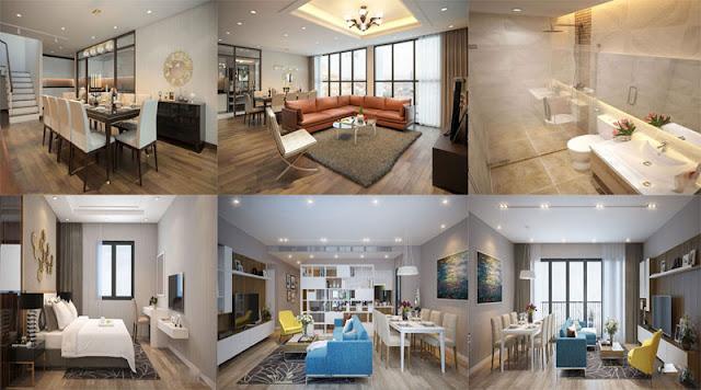 Thiết kế căn hộ chung cư Thạch Bàn Lakeside