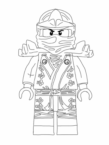 Lego Ninjago Coloring Pages - Free Coloring Pages Printables for Kids