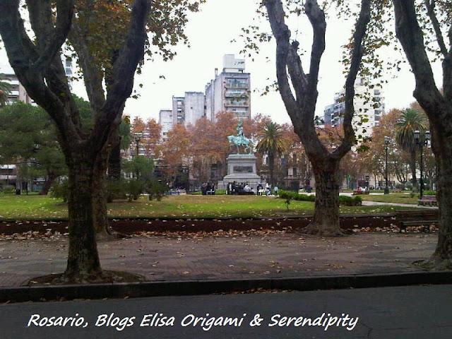 Plaza San Martín, Rosario, Argentina, Elisa N, Blog de Viajes, Lifestyle, Travel