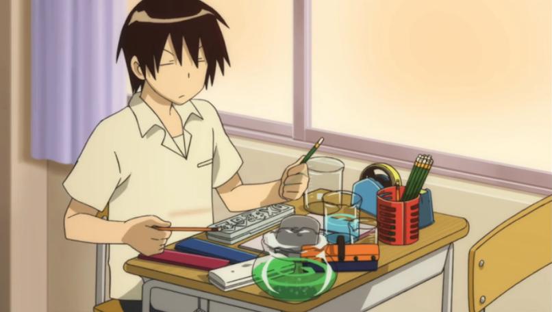 12 Days of Anime Day 8 Tonari no Seki-kun Image 1