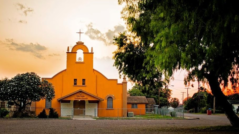 Photo of the Holy Family Catholic Church of La Grulla, Texas