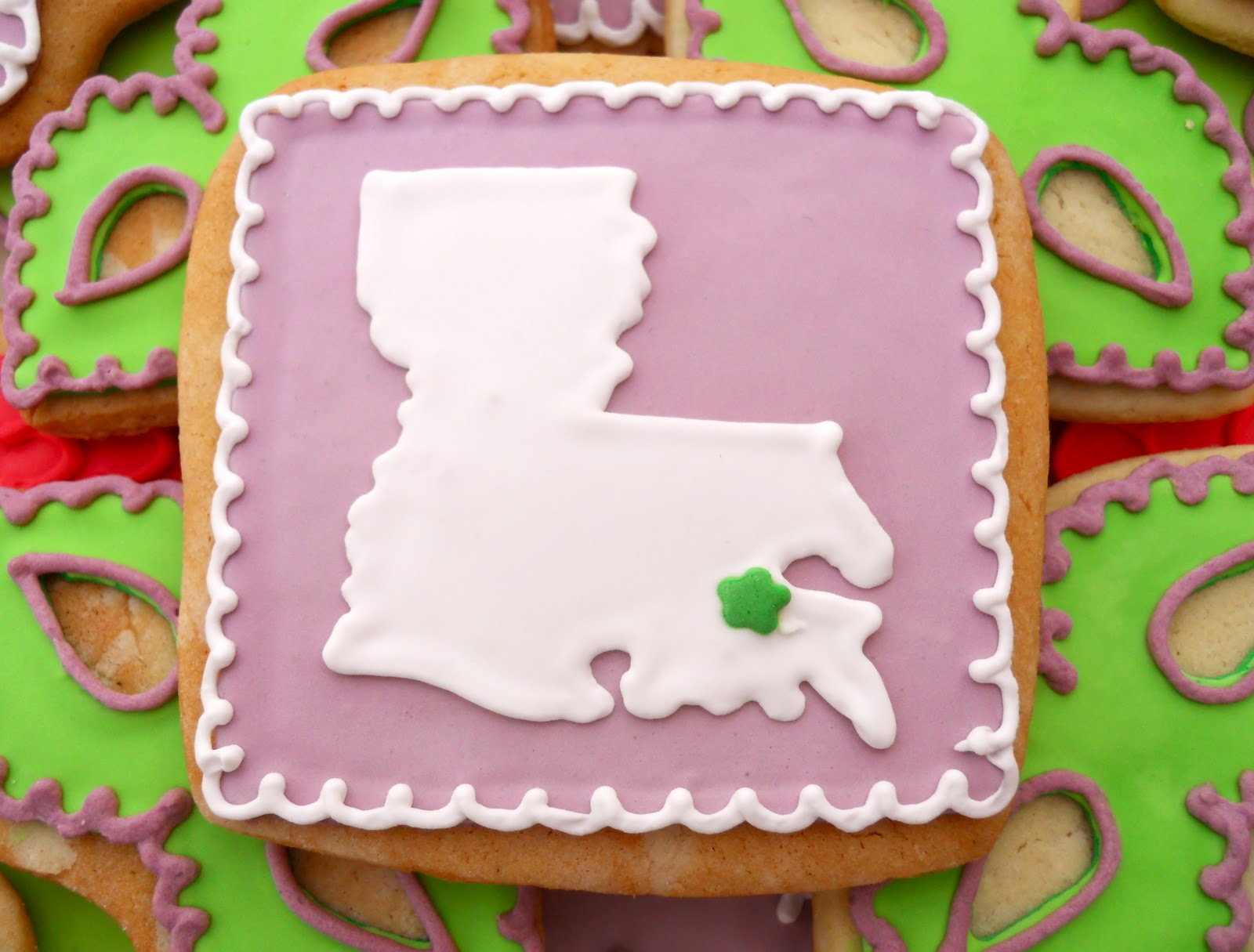 Oh Sugar Events: Mardi Gras Cookies