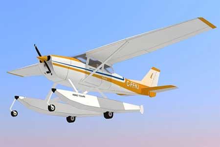 Cessna 172 Skyhawk Papercraft