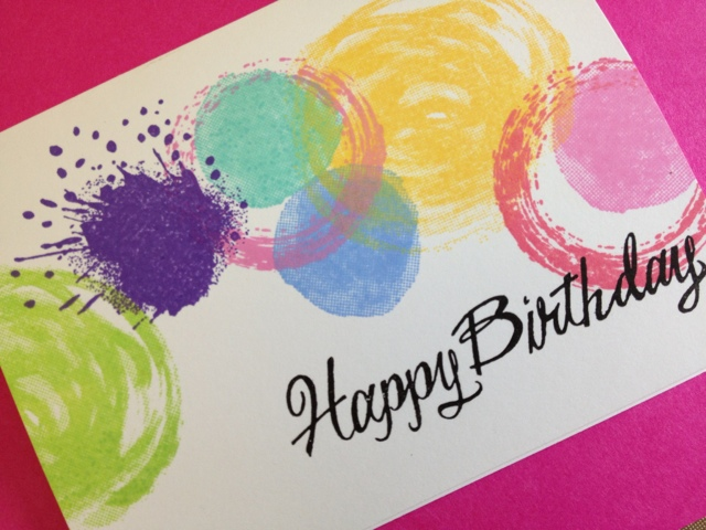 Paper Crafting Sunshine An Easy Happy Birthday Card