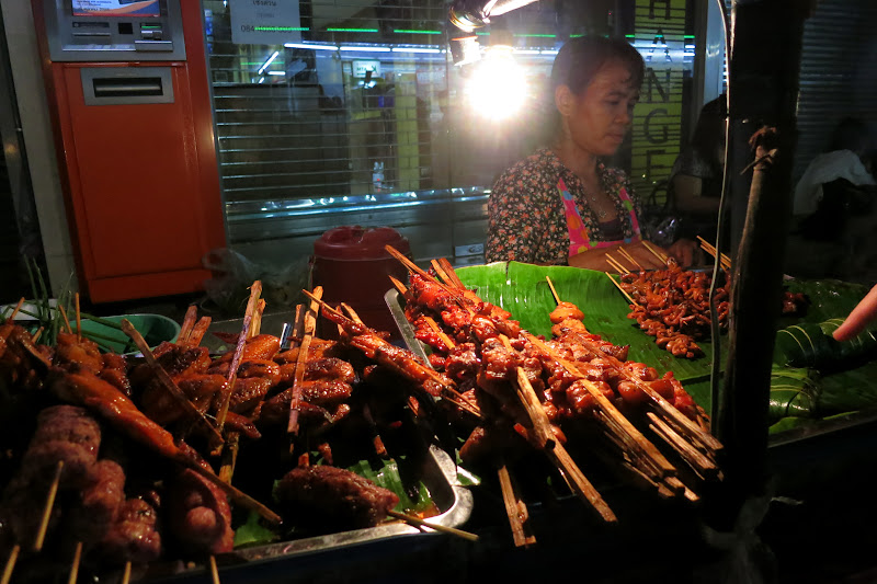 BBQ street vendor