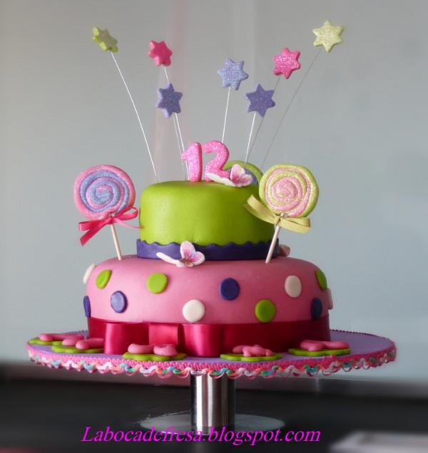 Tortas para 12 años niña - Imagui