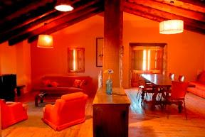 Sala d'estar casa de vacances Barcelona