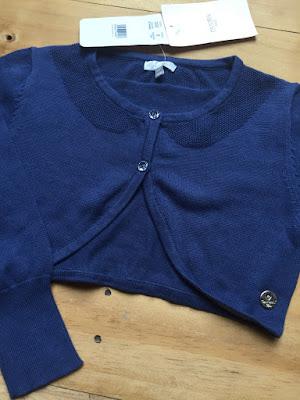 Áo khoác lửng len, hàng xuất xịn hiệu Mayora, made in cambodia, size 8-14T.