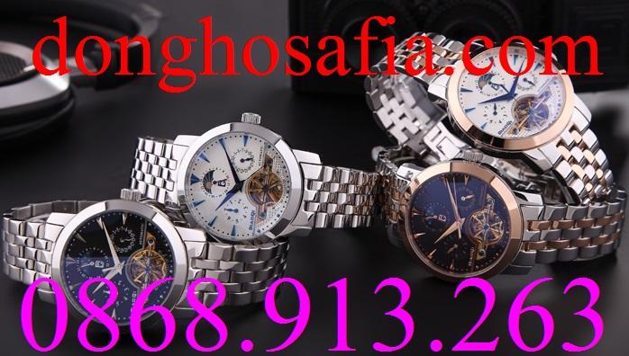 Đồng hồ nam cơ Biaoq 711