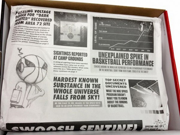 Detailed Look at NIKE LEBRON X ALLSTAR and Its Packaging