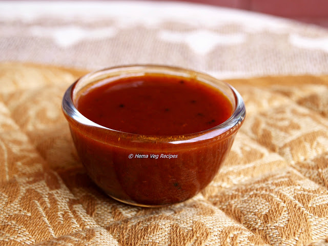 Tamarind Chutney  or Gojju
