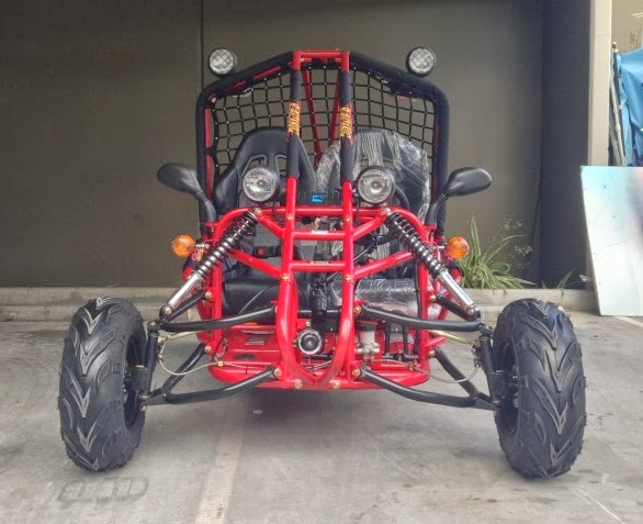 150c Kandi Dune Buggy Red Front