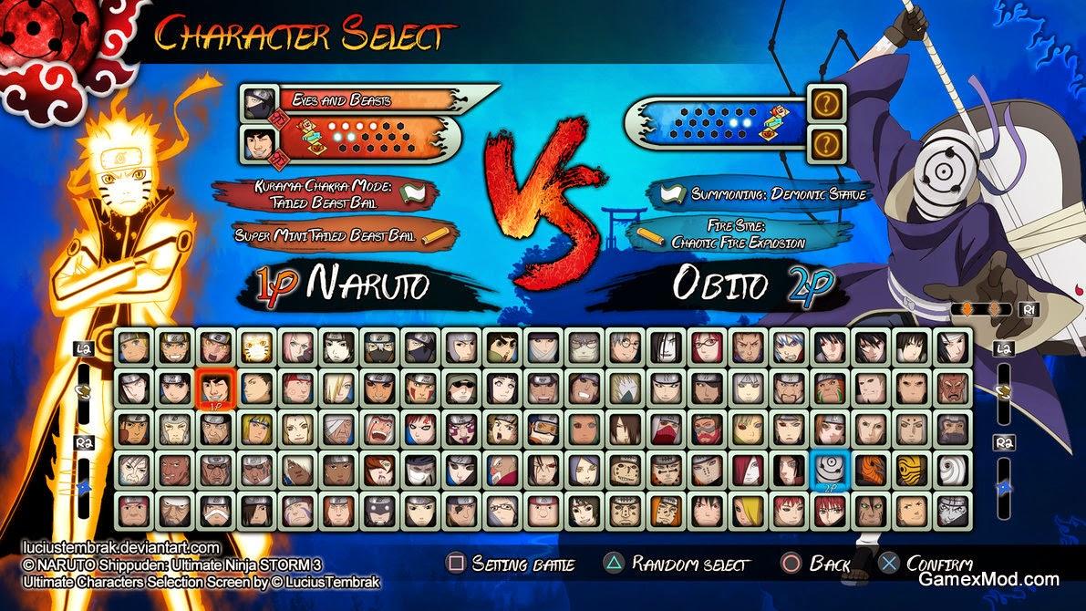 Download Naruto Shippuden Ultimate Ninja Storm 3-FLT For PC Direct Link - Game Screenshot