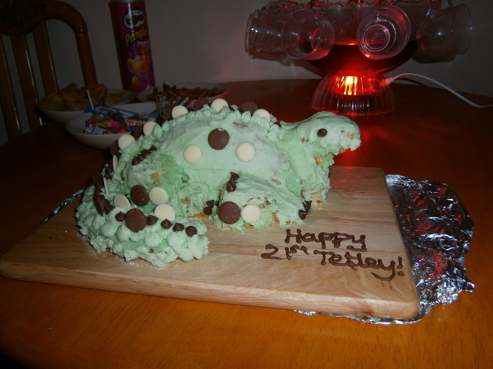 Video 3D DINOSAUR CAKE PANS 246