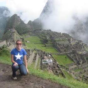 Sarah Eldred in Peru and Argentina
