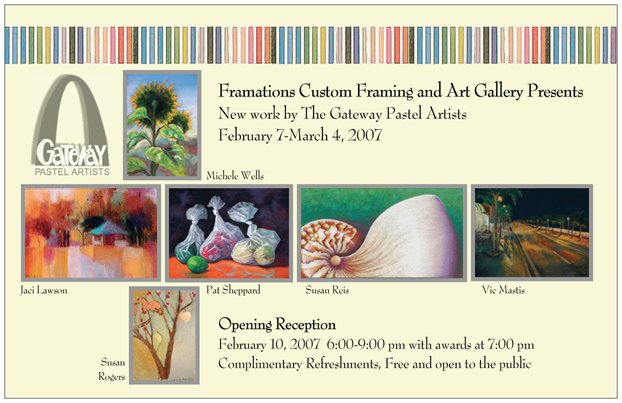 New Work by The Gateway Pastel Artists