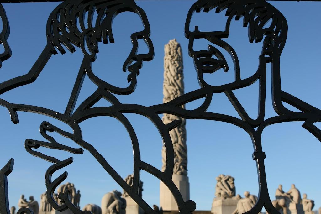 Eingang zum Vigeland Skulpturenpark
