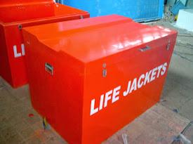 life jacket box fiber