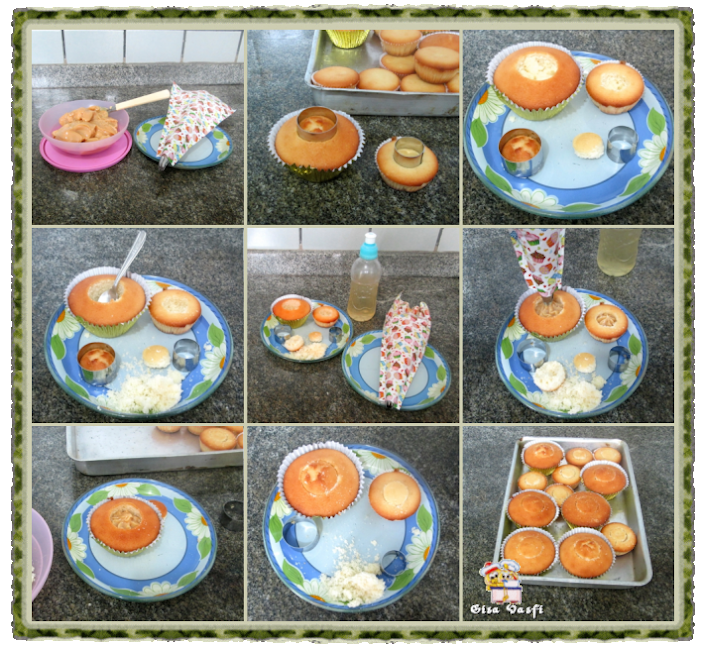 Cupcake de fécula de batata 4