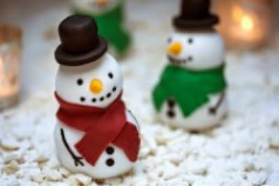 Jolly Snowman Cake Recipe - Christmas Food