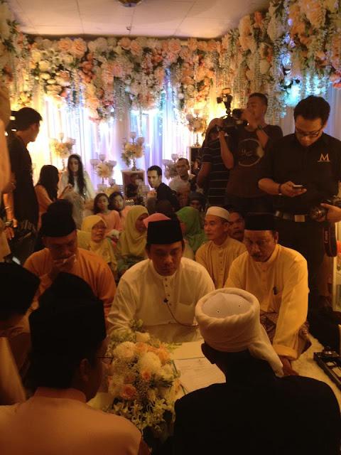 gambar ella nikah dengan azhar