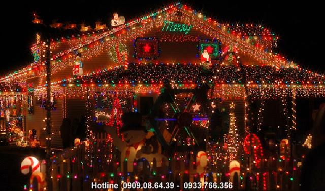 Bán sỉ đèn trang trí Noel giá rẻ nhất