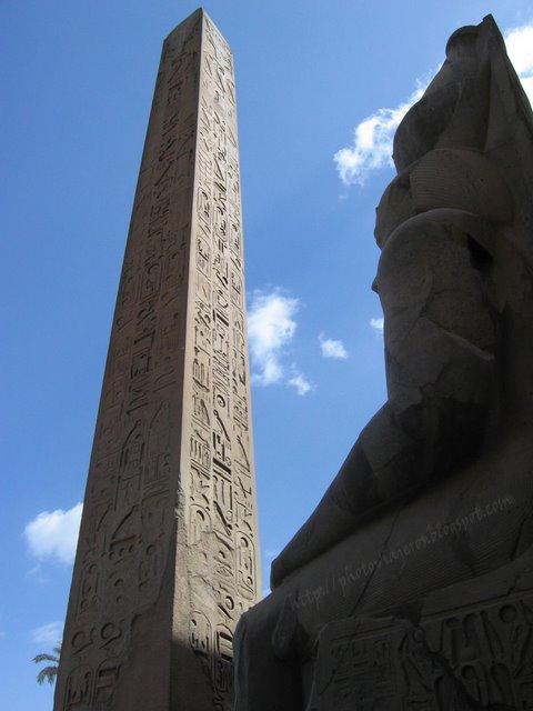 Ramses II y Obelisco